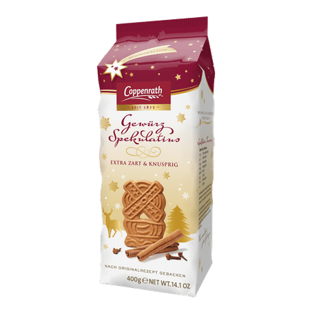 Coppenrath Spiced Xmas Biscuits Feinste Spekulatius Cookies 400g 14oz