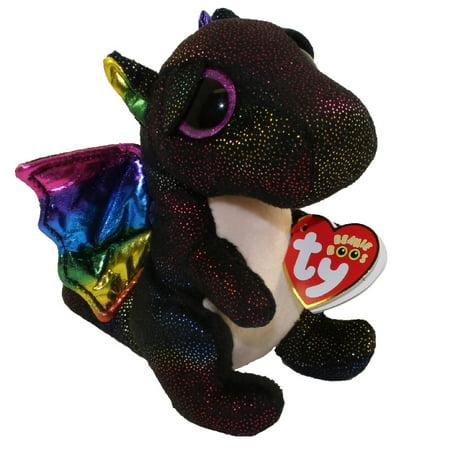 TY Beanie Boos - ANORA the Dragon (Glitter Eyes) (Regular Size - 6 inch)