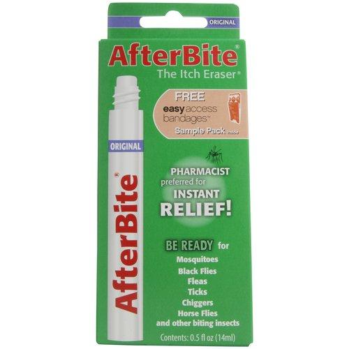 Image of After Bite Original Itch Eraser with Easy Access Bandages Sample Pack, 0.5 fl oz