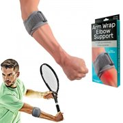 1 Arm Wrap Elbow Brace Support Sleeve Compression Tennis Pain Guard Sports New