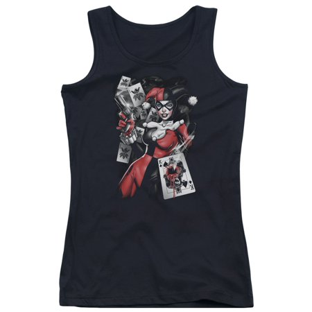 e6f0e52da067bd Trevco - Batman DC Comics Harley Quinn Smoking Gun Juniors Tank Top Shirt -  Walmart.com