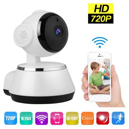 TSV 720P HD Wifi Security Camera Indoor Night Vision Wireless Pan&Tilt IP Camera Home Surveillance System, Phone App Control Security Surveillance Box Camera