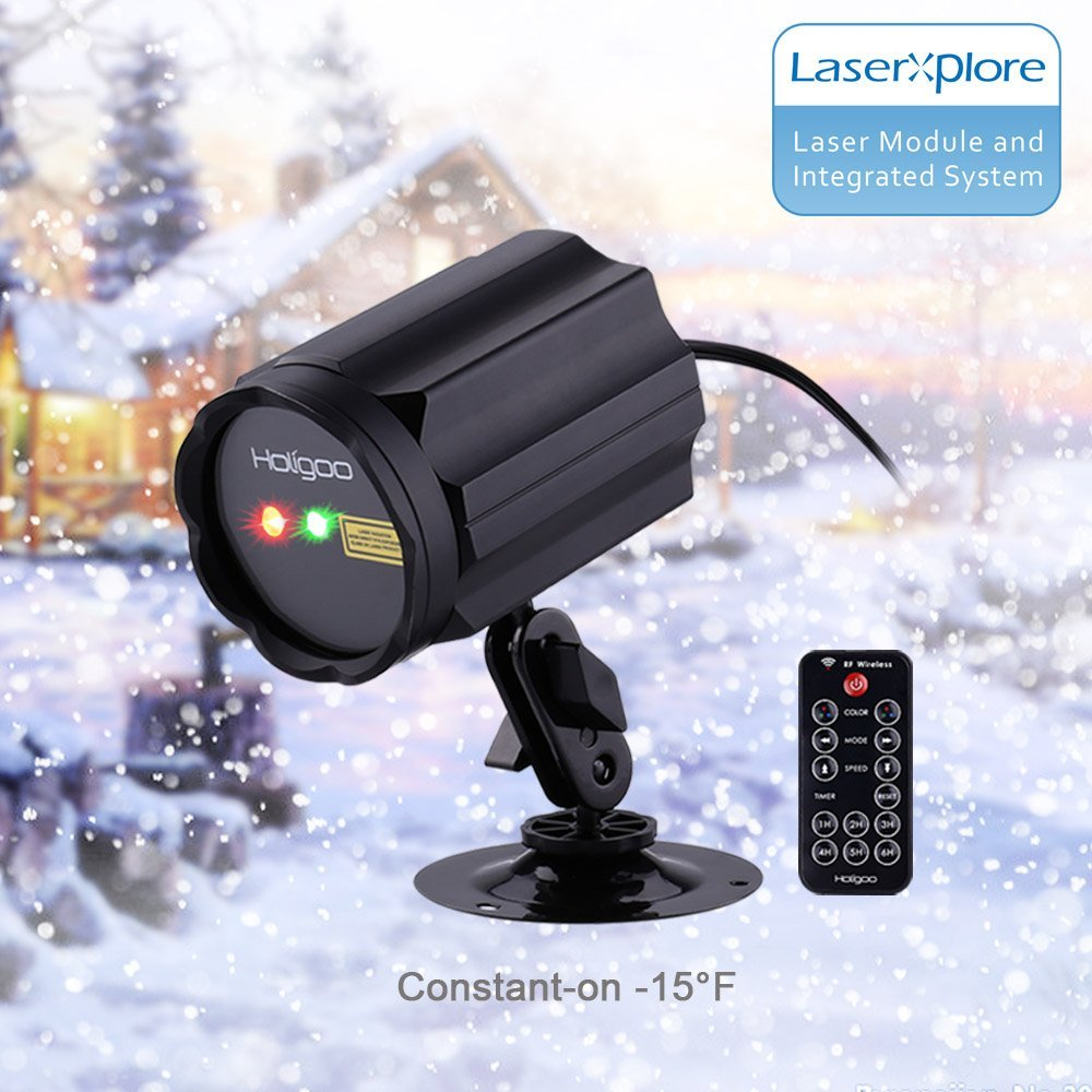 Wireless Control Laser Led Lights, Red ; Green Outdoor St...