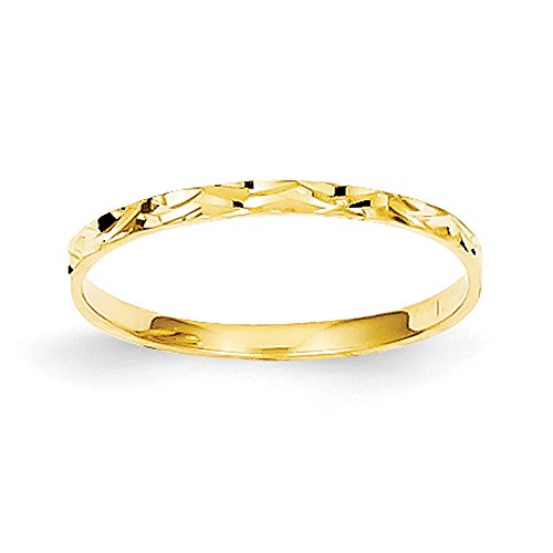 Baby and Children 14K Yellow Gold Band Ring
