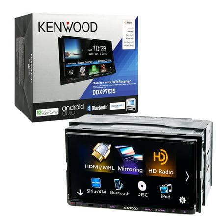 Kenwood 6 95 Ddx9703s Double Din Bluetooth In Dash Dvd Cd Am Fm Car