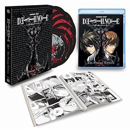 Death Note: Omega Edition (Blu-ray) (Best Anime Like Death Note)