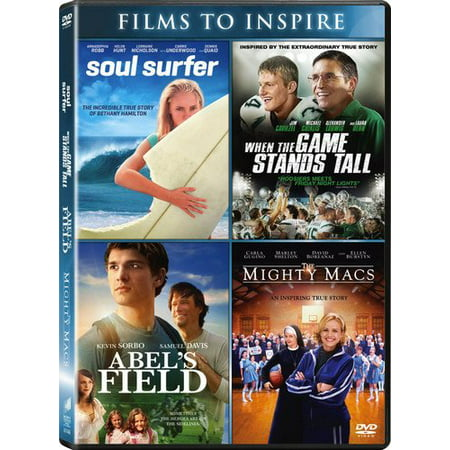 Abel's Field / The Mighty Macs / Soul Surfer / When the Game Stands Tall (DVD) ()