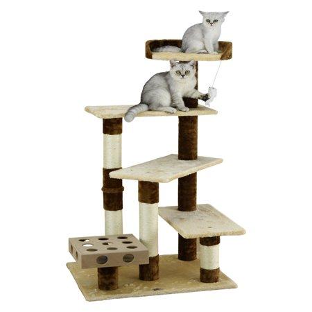 Go Pet Club Cat Tree 45 in. Condo Busy (Bus Box Cart)
