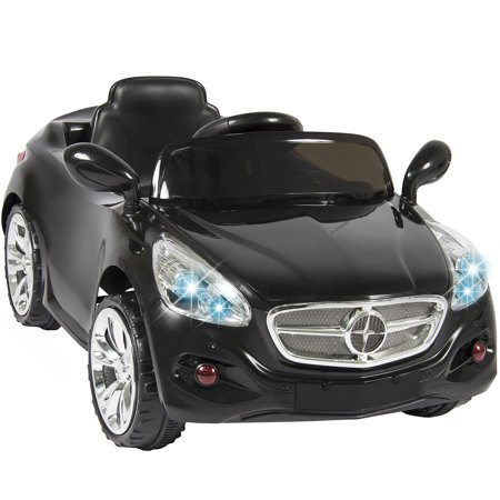 12v ride on car kids rc car remote control electric battery power w radio