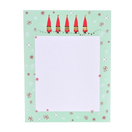 - Gartner Studios Happy Gnome Holiday Stationery - 40 Count
