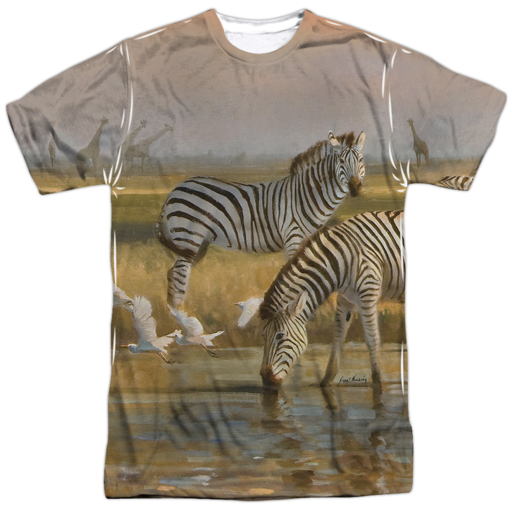 Wild Wings Sundowners (Front Back Print) Mens Sublimation Shirt