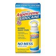 Aspercreme 4% Lidocaine (2.5 Oz), No Mess Applicator