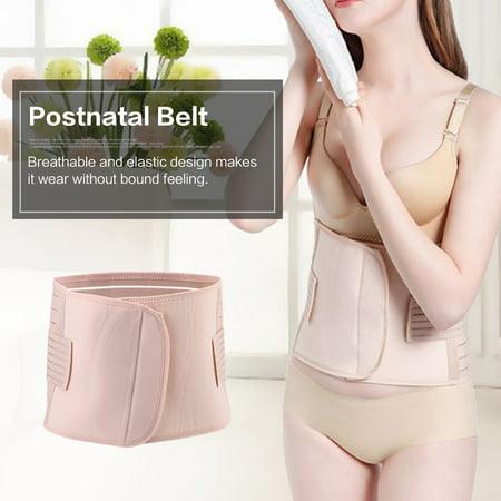 Nylon Postnatal Bandage Maternity Postpartum Belt Waist Belly Recovery Band for Post Pregnancy Women Beige ,Postnatal Belt, Postpartum Support