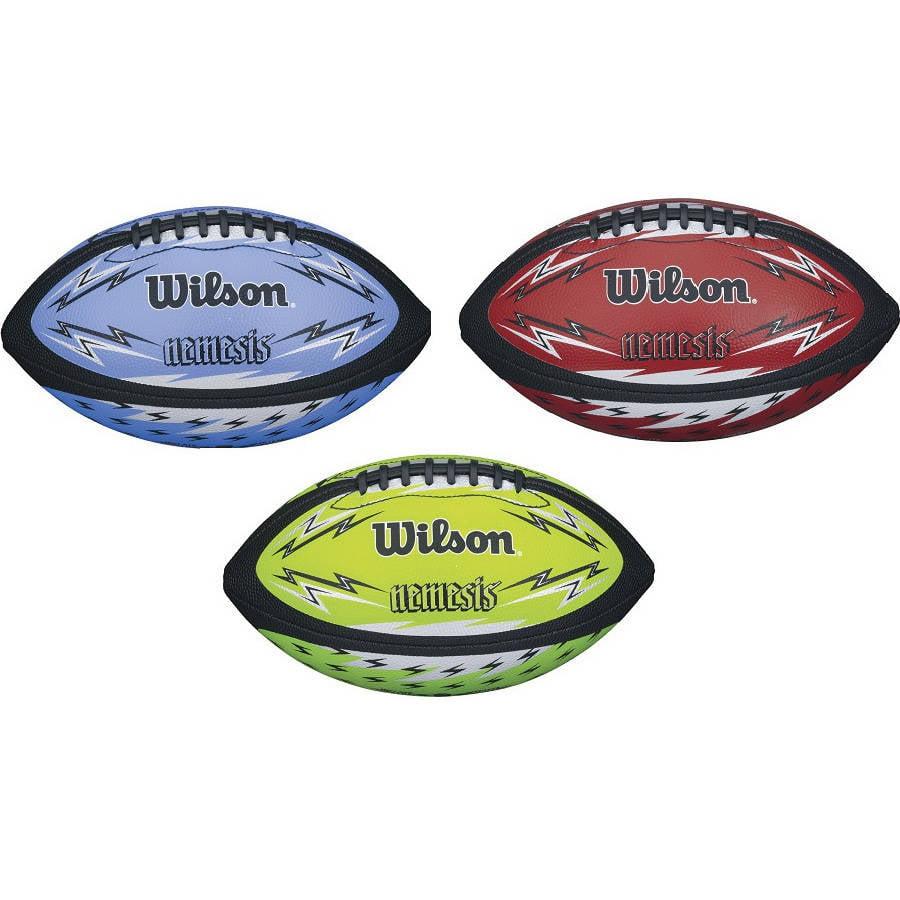 Wilson Nemesis Jr Football, Assorted Colors