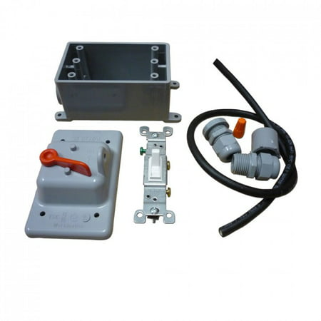 Outdoor Electrical Kit with Lockout Cover (Electrical Locknut)
