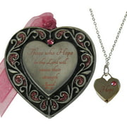 Hope Ornament and Necklace Set