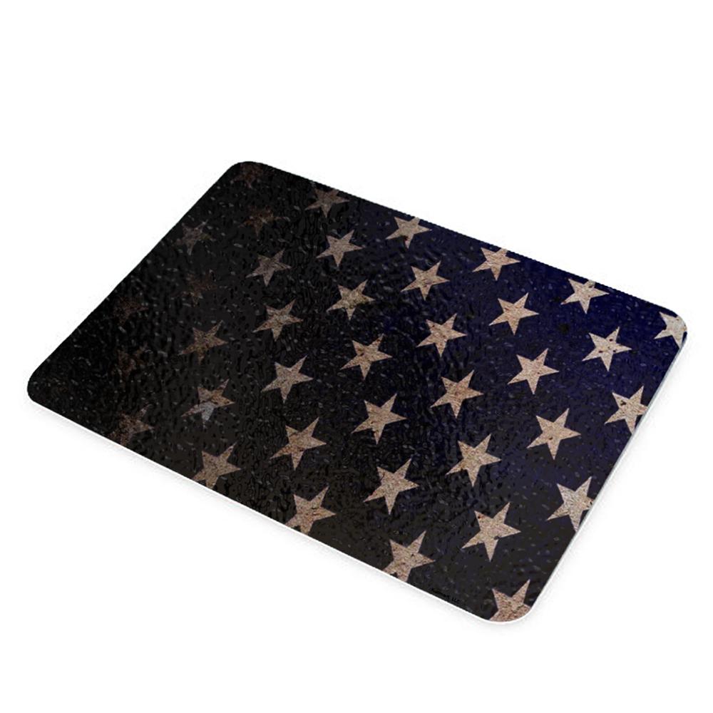 KuzmarK Glass Cutting Board - American Flag Stars
