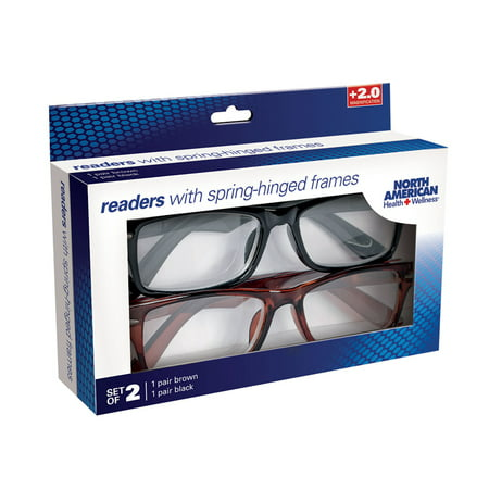 Women's Readers - Spring Hinged Reading Glasses - Set of (Polarized Reading Glasses Collection)