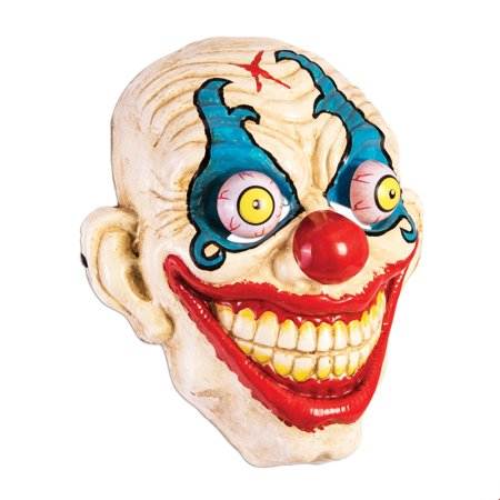 Google Eyes Smiling Clown Mask](Crazy Clown Masks)