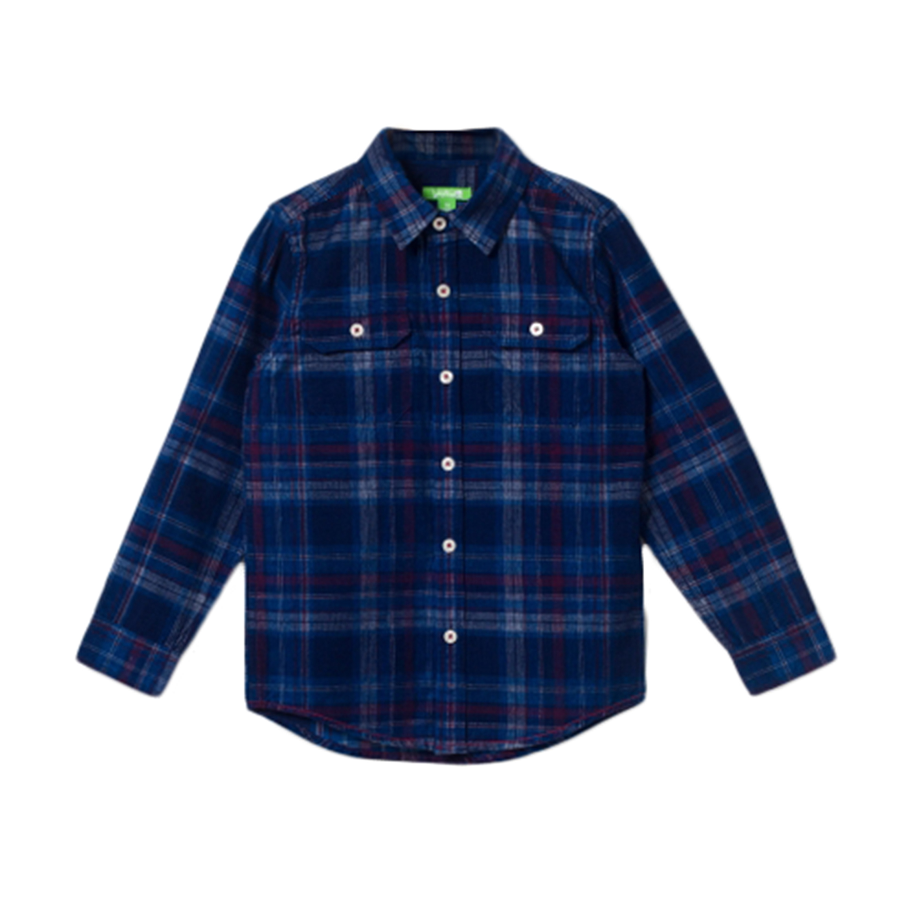 Bossini Boys Chill Long Sleeve Plaid Flannel Shirt Check Shirt,US Size 4T - 16