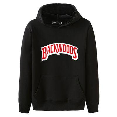 KABOER New Fashion Men Hoodie Letter Printed Sweatshirt Black Hooded Hoodie Long Sleeve Pullover Sweatshirt