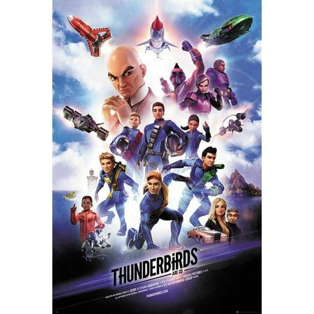 Thunderbirds Are Go - TV Show Poster / Print (Key Art / Regular Style) (Size: 24