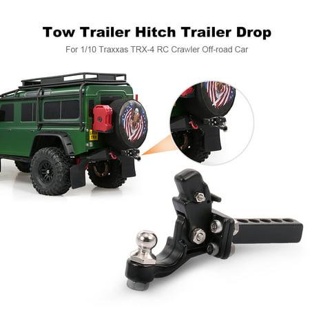 Tow Trailer Hitch Trailer Drop for 1/10 Traxxas -4 RC Crawler Off-road Car    Walmart Canada