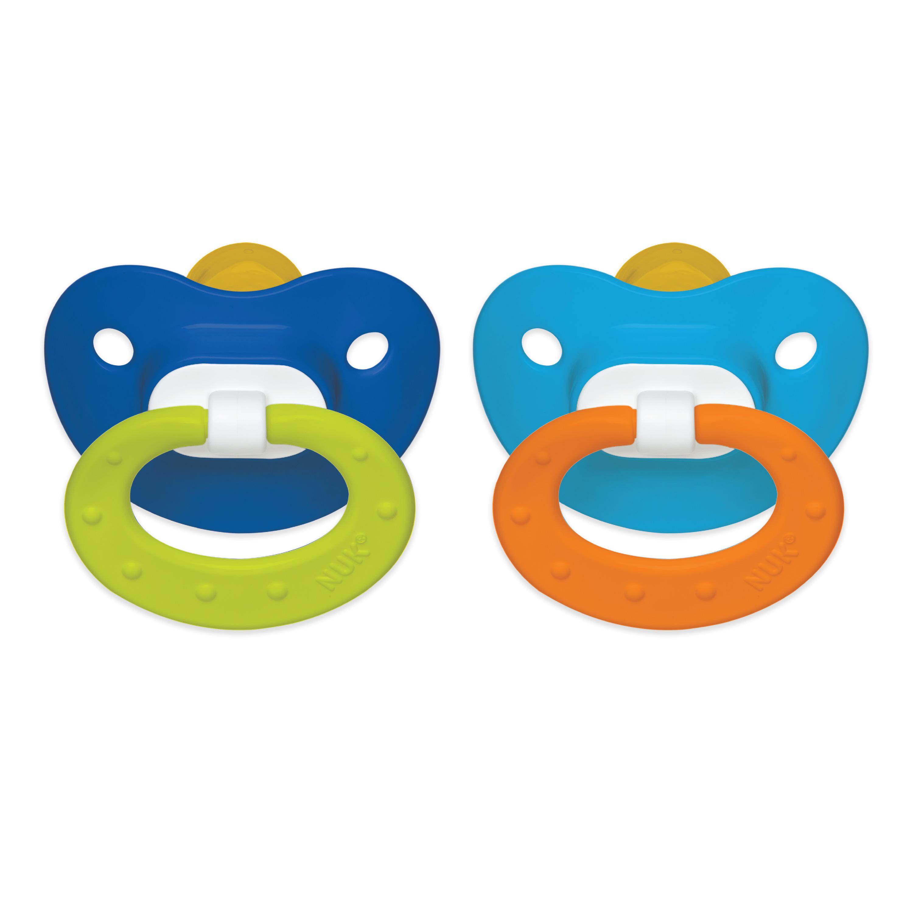NUK Orthodontic Pacifier, 18-36 Months - 2 Counts