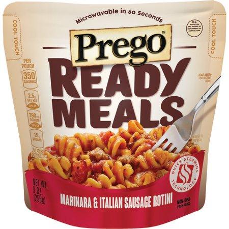 Prego Ready Meals Marinara & Italian Sausage Rotini, 9 oz.