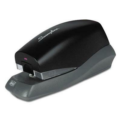 Swingline Breeze Automatic Stapler, 20-Sheet Capacity, Black