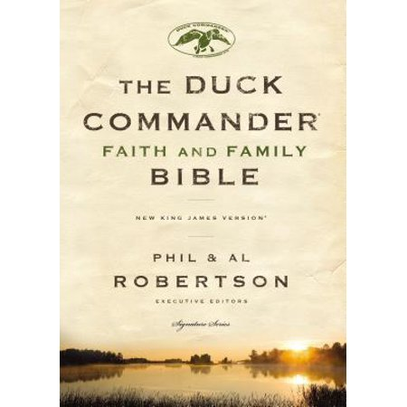 Duck Commander Faith and Family Bible-NKJV for $<!---->