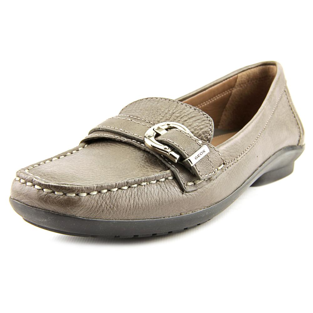 Geox D Roma Women  Round Toe Leather  Loafer