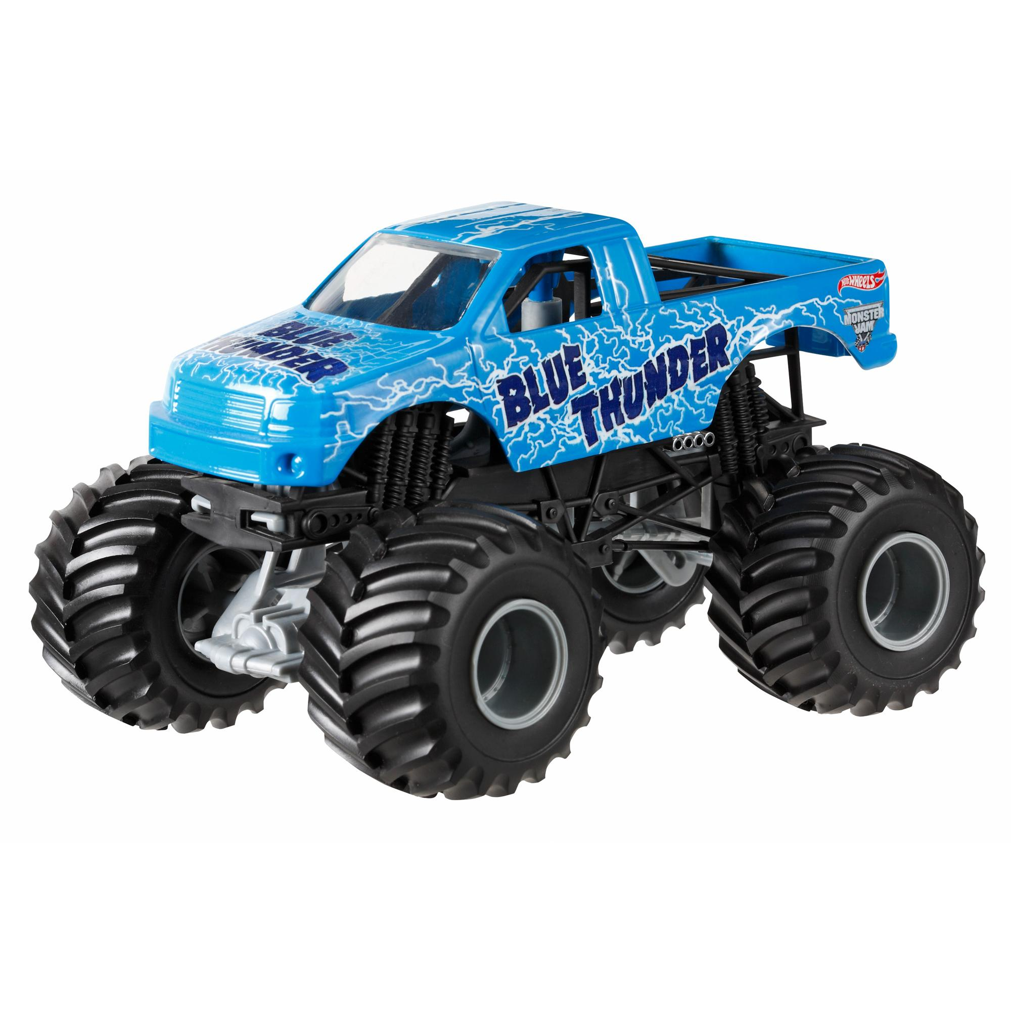Hot Wheels Monster Jam 1:24 Blue Thunder Die-Cast Vehicle