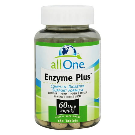 All One   Enzyme Plus   180 Tablets