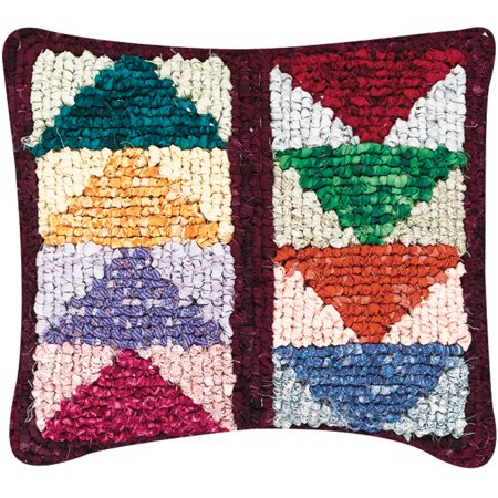 Quilt Mates Locker Hook Pillow Kit, 12-1/2