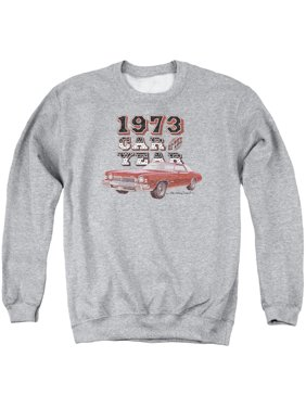 4dcff8897b5 Product Image CHEVY CAR OF THE YEAR-ADULT CREWNECK SWEATSHIRT-ATHLETIC  HEATHER-3X