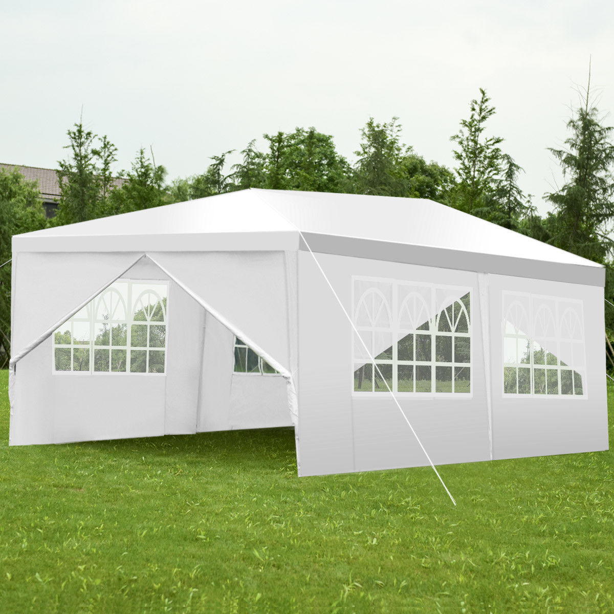Costway 10 X20 Canopy Pavilion Cater Events Outdoor Party Wedding
