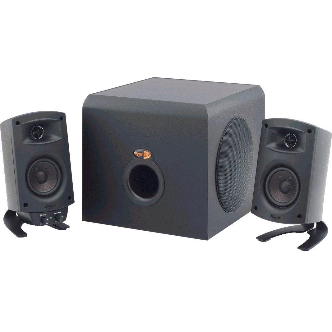 Klipsch ProMedia 2.1 THX Certified Computer Speaker System 3-Piece Set (1011400) With Bluetooth Adapter by Klipsch