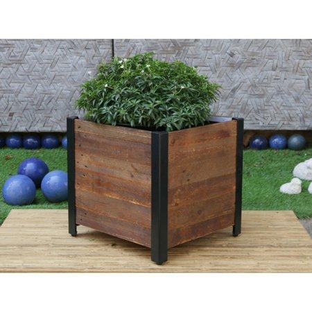 Grapevine Urban Garden Wooden Planter Box (Wooden Box Planters)