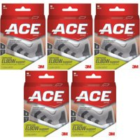 5 Pack - 3M ACE Elbow Brace Medium 1 Each