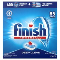 Finish All in 1 Powerball Fresh, 85ct, Dishwasher Detergent Tablets