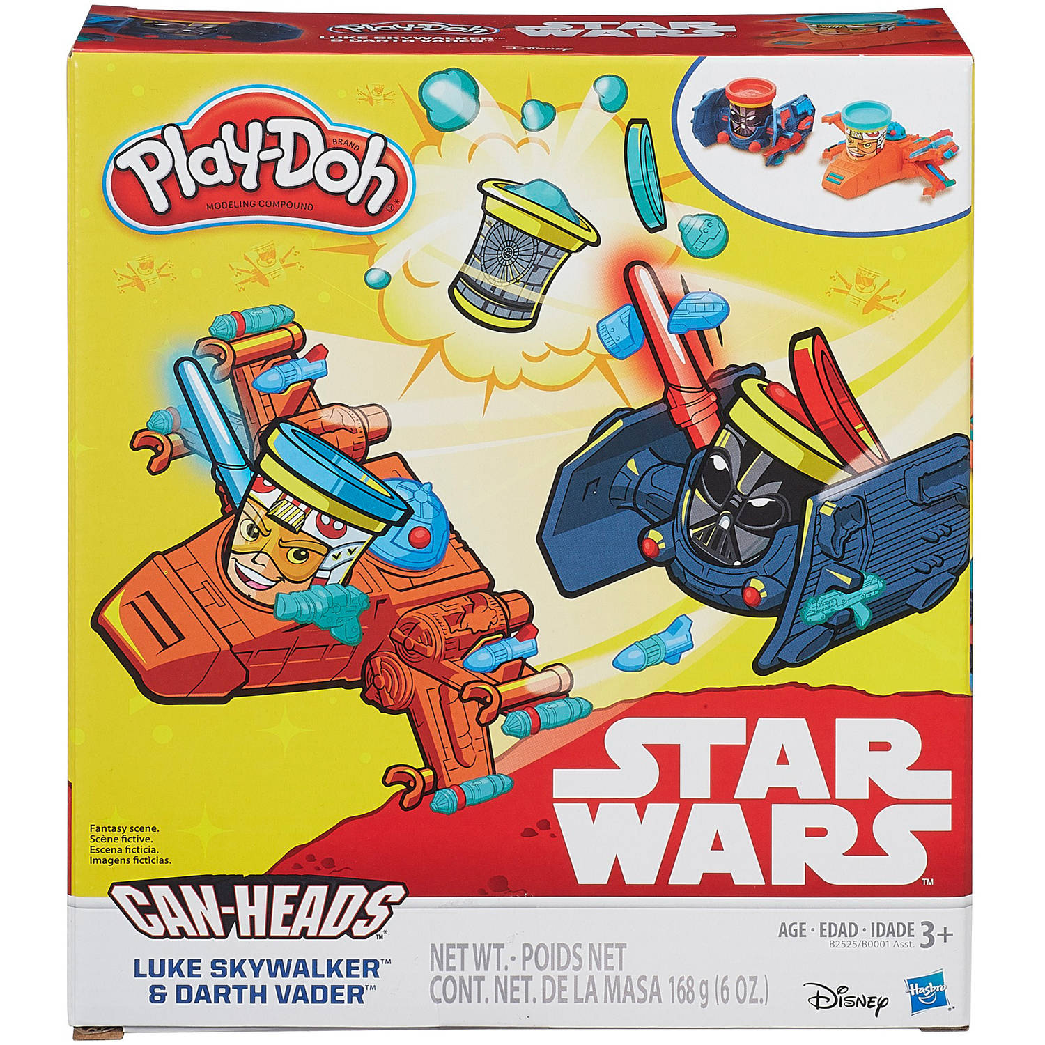 Play Doh Pd Sw Xwing And Tie Fighter