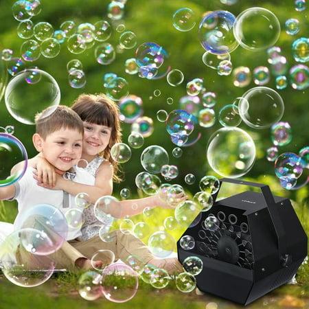 Bubble Machine For Parties Automatic Bubble Maker, Portable