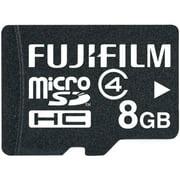 Fuji FDC600008952B Fujifilm 8 GB microSDHC Class 4 Flash Memory Card