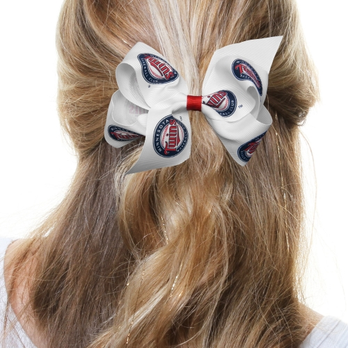 Minnesota Twins Women's Junior Hair Bow - No Size