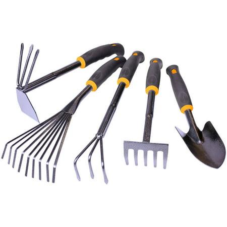 Centurion 485 hammerstone garden tool 5 piece set for Gardening tools walmart