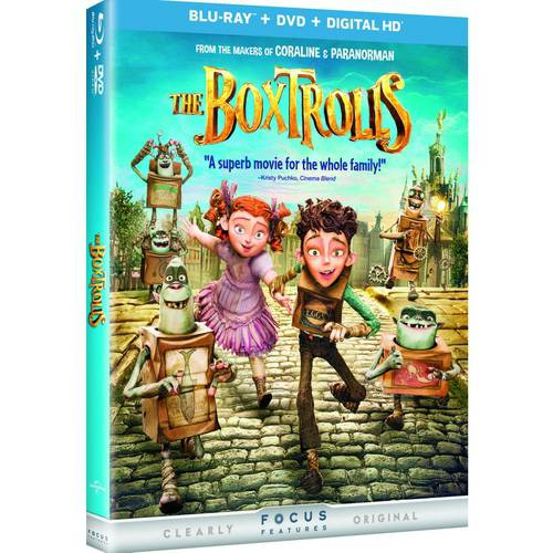Boxtrolls (Blu-ray + DVD + Digital HD)