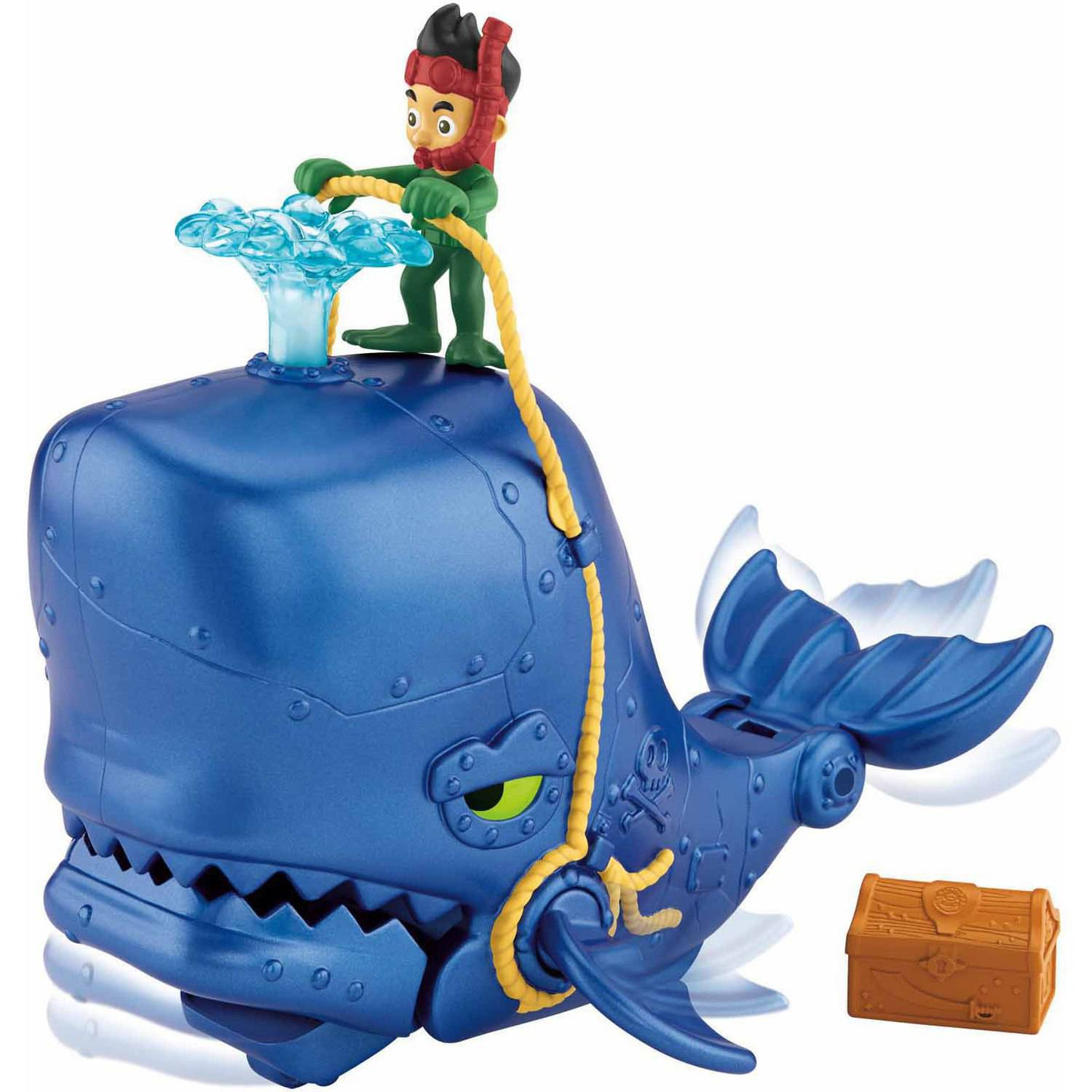 Fisher Price Jake And The Neverland Pirates Super Creature Whale ...