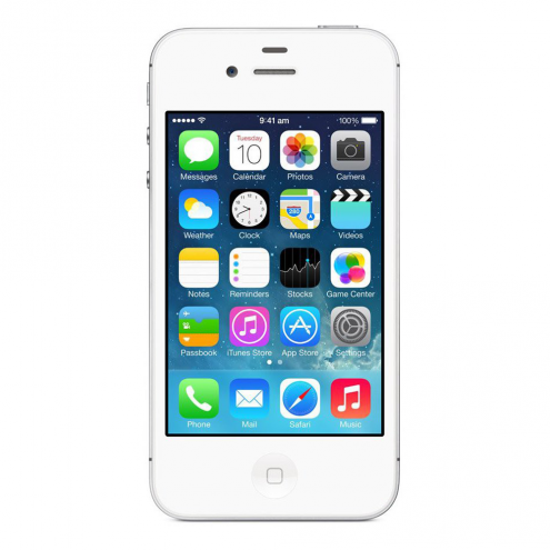 Pre-Owned Apple iPhone 4s Sprint White 16GB (MD378LL/A) (...