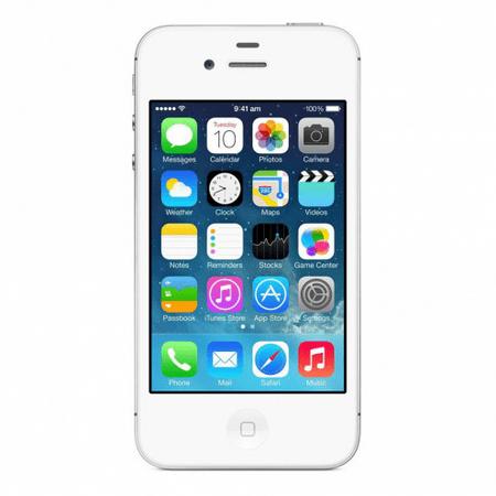 Refurbished Apple iPhone 4s 8GB, White - Sprint